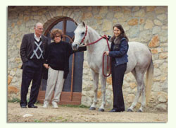 Don and Judy Forbis visit farm